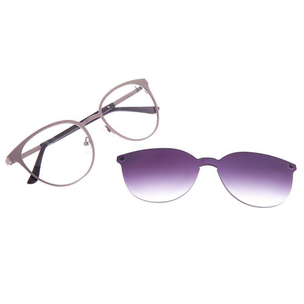 Armação Para Óculos de Grau Feminino Chilli Beans Multi Essential Metal Degradê LV.MU.0429-2093