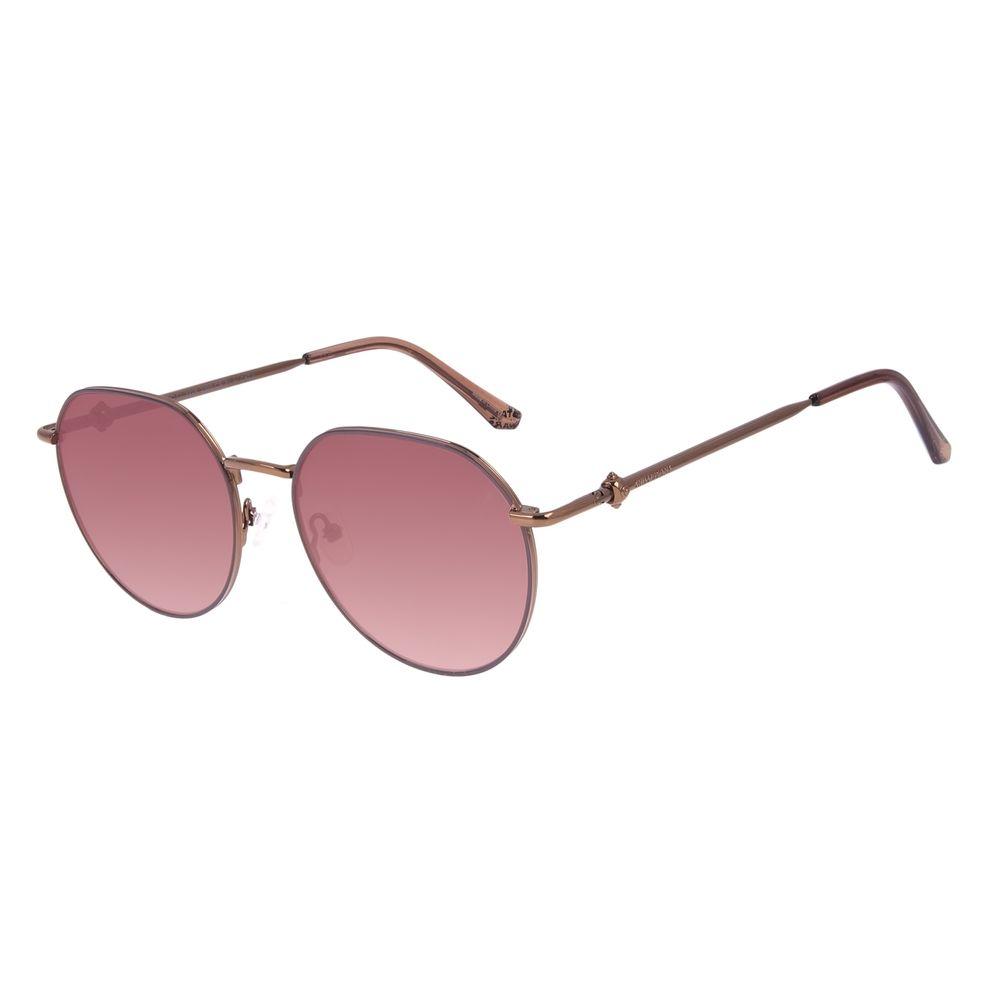 Óculos de Sol Feminino Star Wars Princesa Leia Redondo Marrom OC.CL.3228-2302