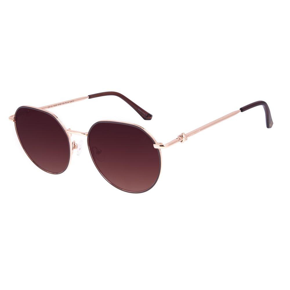 Óculos de Sol Feminino Star Wars Princesa Leia Redondo Rosé OC.CL.3228-5795