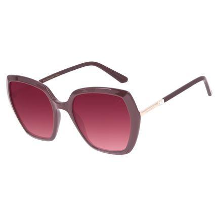 Óculos de Sol Feminino Swarovski Dia dos Namorados Vinho OC.CL.3237-2017