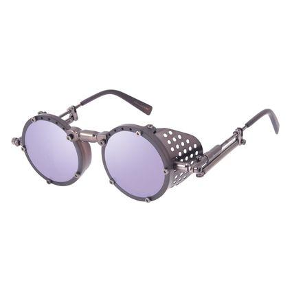 Óculos de Sol Unissex Alok Tech In Style Icônico Steampunk Fashion Ônix OC.CL.3293-2201