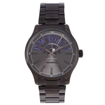 Relógio Analógico Masculino Star Wars Millennium Falcon Ônix RE.MT.1197-2222