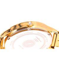Relógio Analógico Feminino Swarovski Dia dos Namorados Minimalista Dourado RE.MT.1082-0721.5