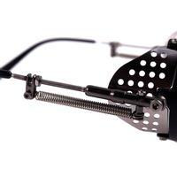 Óculos de Sol Unissex Alok Dia dos Namorados Icônico Steampunk Fashion Espelhado  OC.CL.3293-3201.5