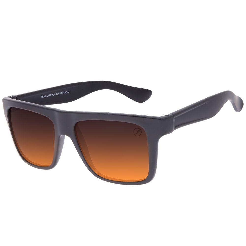 Óculos de Sol Masculino Chilli Beans Bossa Nova Casual Laranja OC.CL.2199-1101