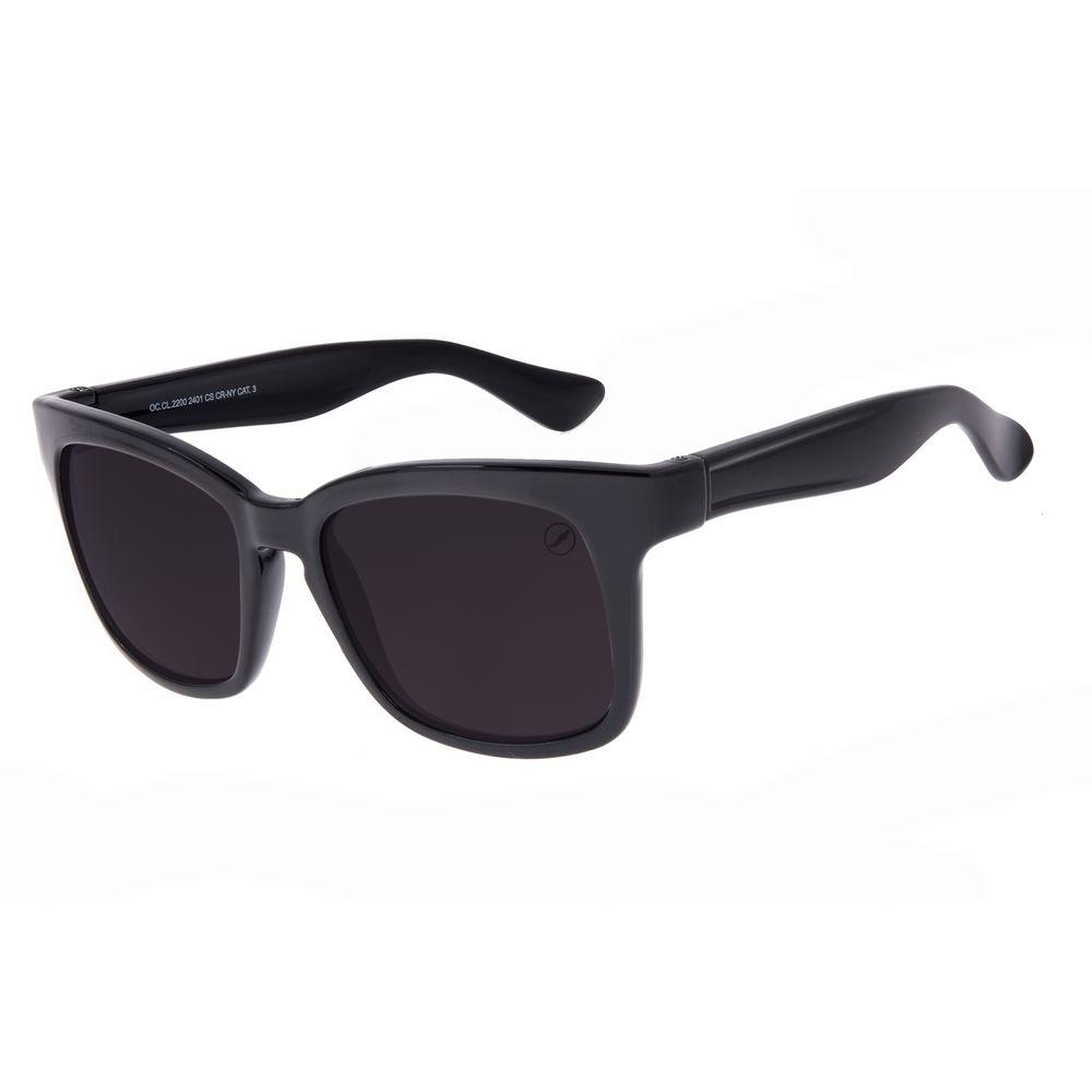 Óculos de Sol Feminino Chilli Beans Quadrado Preto OC.CL.2200-2401