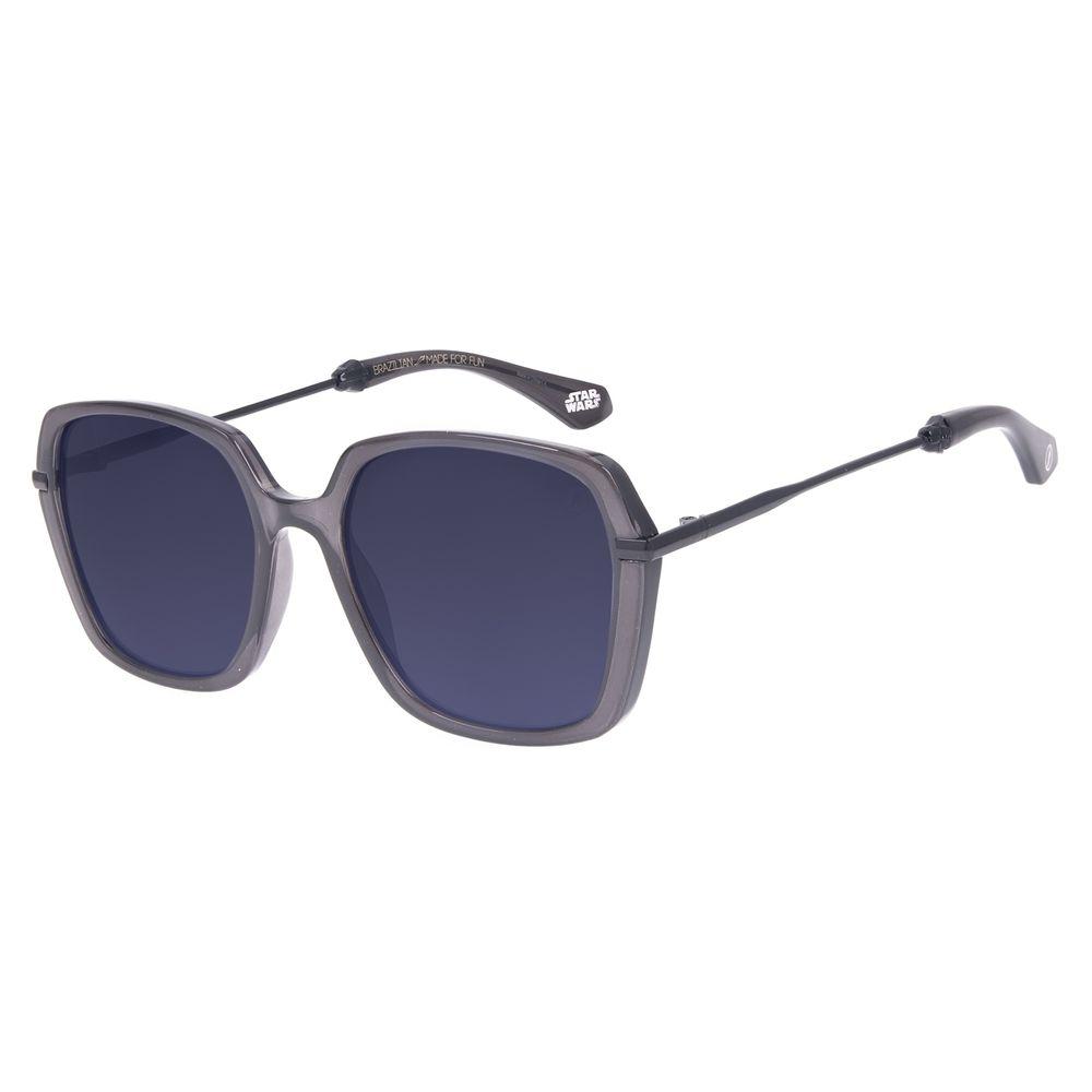 Óculos de Sol Feminino Star Wars Darth Vader Quadrado Preto OC.CL.3233-0101