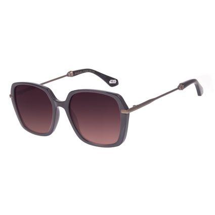 Óculos de Sol Feminino Star Wars Darth Vader Quadrado Vermelho OC.CL.3233-5716