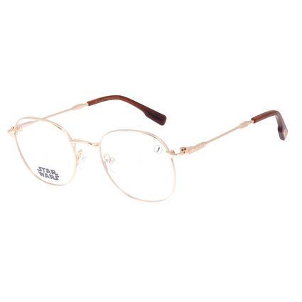 Armação Para Óculos De Grau Unissex Star Wars Baby Yoda Dourado LV.MT.0495-2121