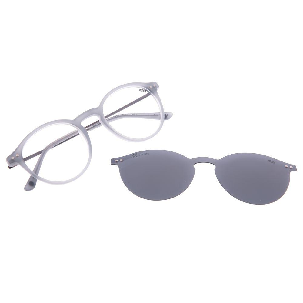 Armação Para Óculos de Sol Masculino Chilli Beans Multi Polarizado Cinza LV.MU.0529-0104