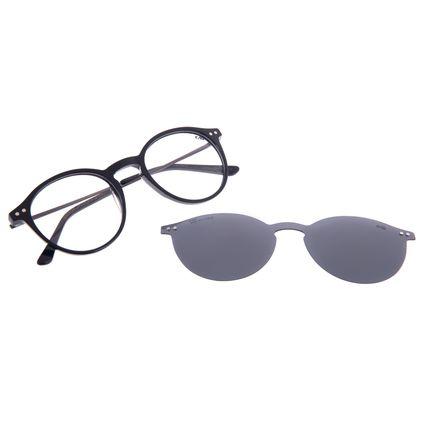 Armação Para Óculos de Sol Masculino Chilli Beans Multi Polarizado Preto LV.MU.0529-0101