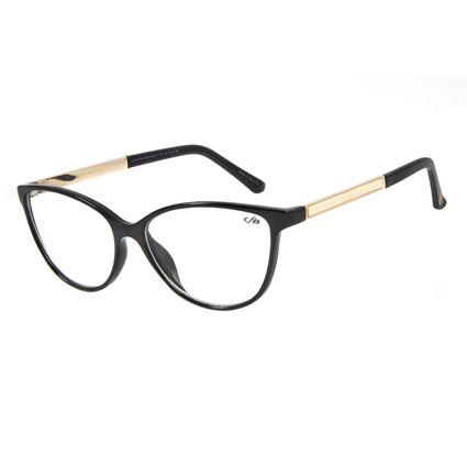 Armação Para Óculos de Grau Feminino Chilli Beans Cat Preto LV.IJ.0154-0164