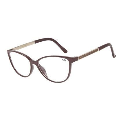 Armação Para Óculos de Grau Feminino Chilli Beans Cat Vinho LV.IJ.0154-1707