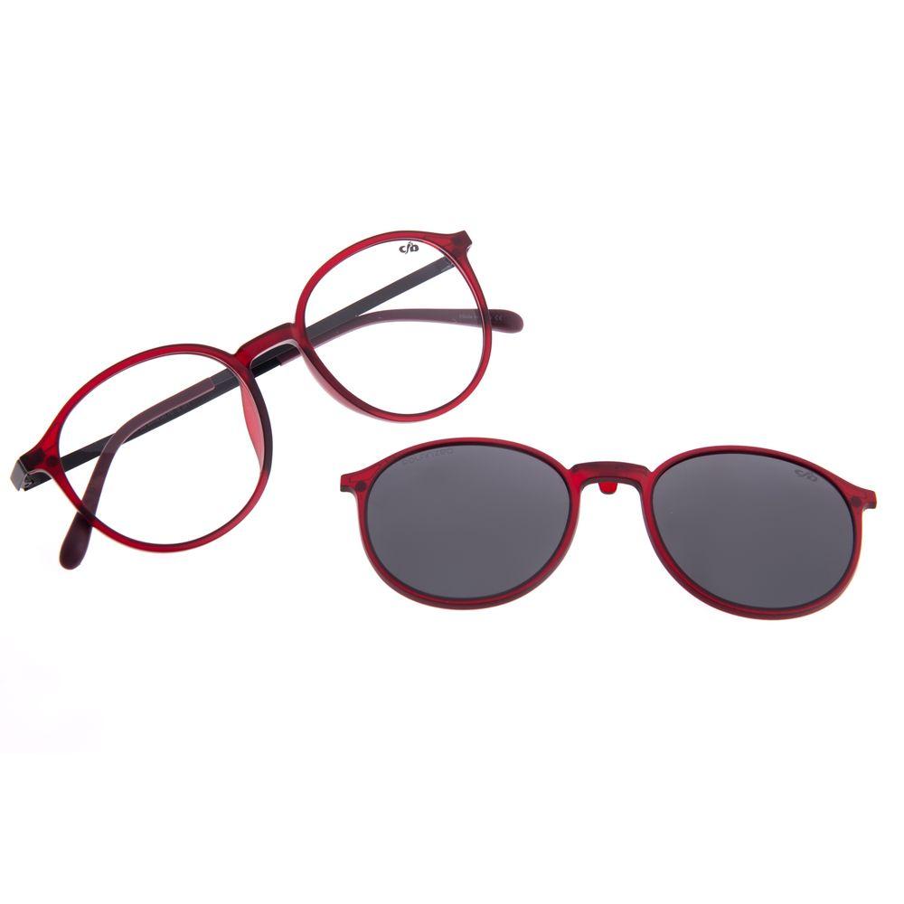 Armação Para Óculos de Grau Unissex Chilli Beans Multi Polarizado Vinho LV.MU.0342-0117