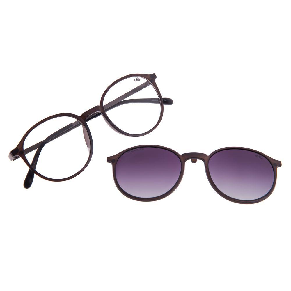 Armação Para Óculos de Grau Unissex Chilli Beans Multi Polarizado Degradê LV.MU.0342-2031