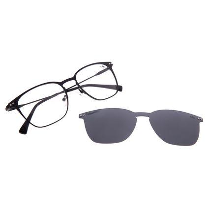 Armação Para Óculos de Grau Masculino Chilli Beans Multi Polarizado Preto LV.MU.0479-0101