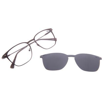 Armação Para Óculos de Grau Masculino Chilli Beans Multi Polarizado Ônix LV.MU.0479-0122