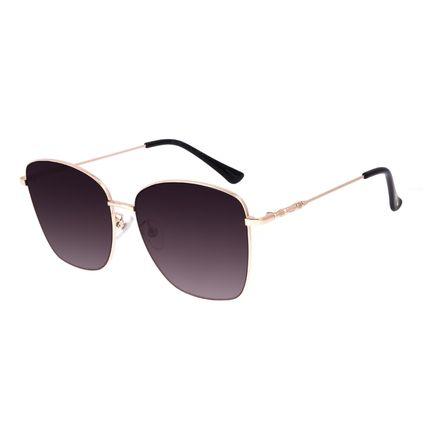 Óculos De Sol Feminino Star Wars Rey Quadrado Dourado OC.MT.3090-4721