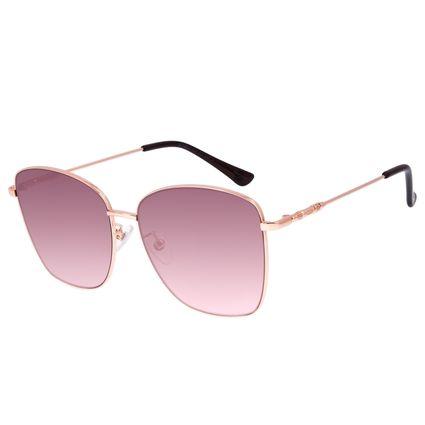 Óculos De Sol Feminino Star Wars Rey Quadrado Rosê OC.MT.3090-5795