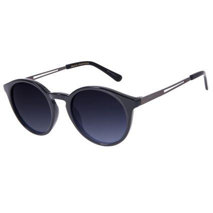 Óculos de Sol Unissex Chilli Beans Redondo Brilho Polarizado OC.CL.3239-2030
