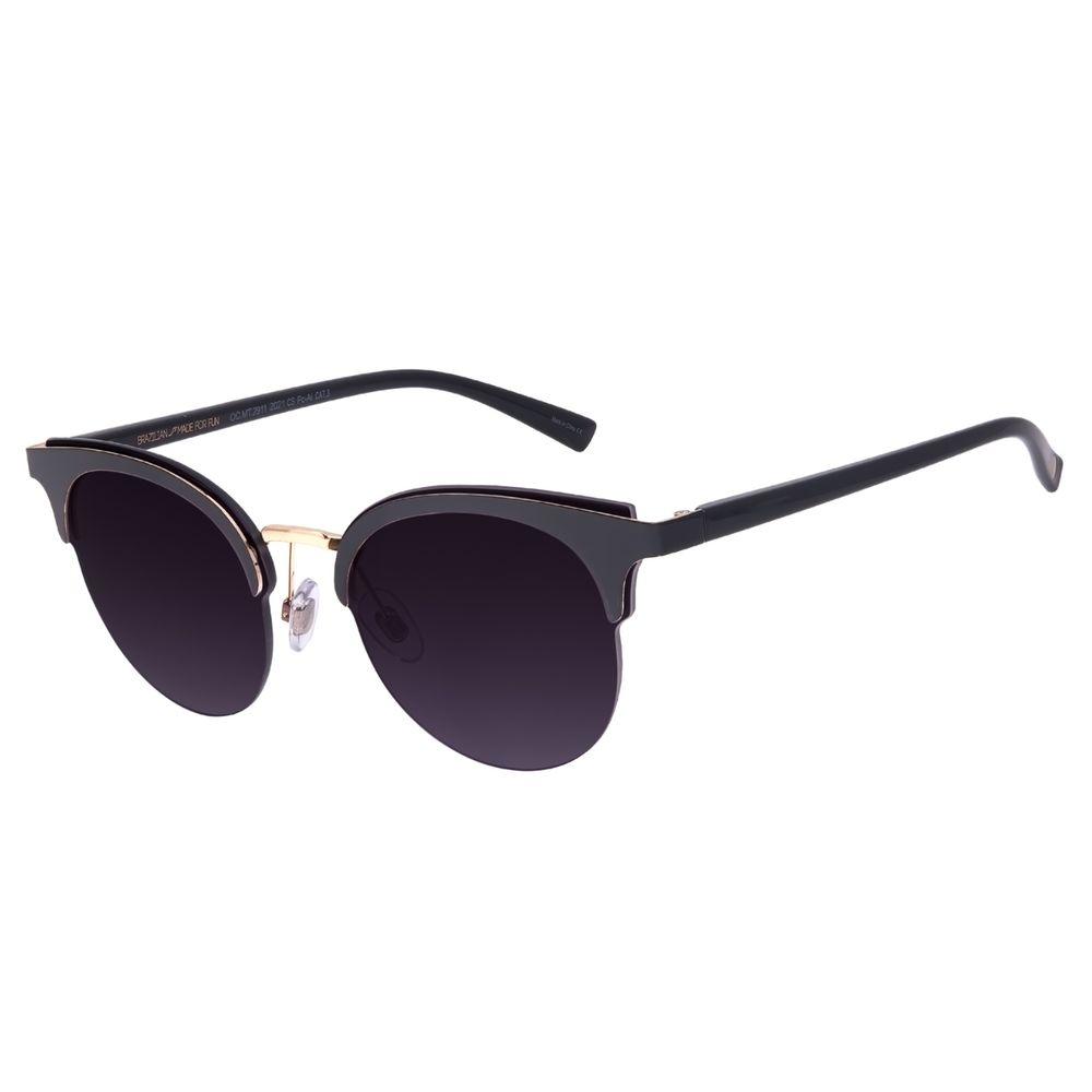 Óculos de Sol Feminino Chilli Beans Redondo Degradê OC.MT.2911-2021