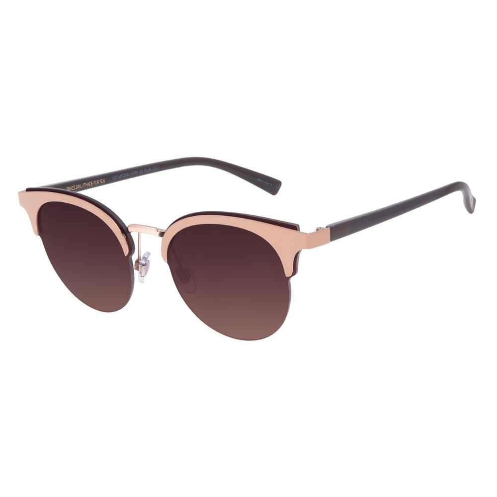 Óculos de Sol Feminino Chilli Beans Redondo Rosé OC.MT.2911-5795