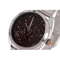 Relógio Analógico Feminino Chilli Beans Chocolate Diamonds Prata RE.MT.1126-4707.6