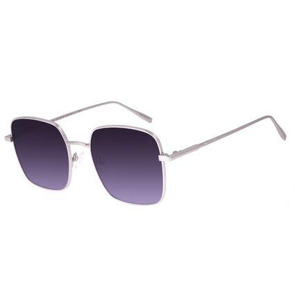 Óculos de Sol Feminino Chilli Beans Quadrado Banhado a Ouro Degradê OC.MT.2975-0107