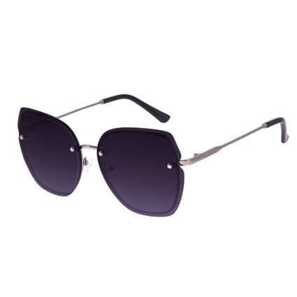 Óculos de Sol Feminino Chilli Beans Quadrado Ônix OC.MT.3006-2022