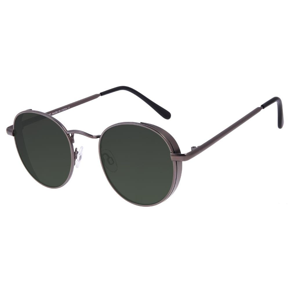 Óculos de Sol Feminino Chilli Beans Redondo Flap Ônix OC.MT.3027-1522