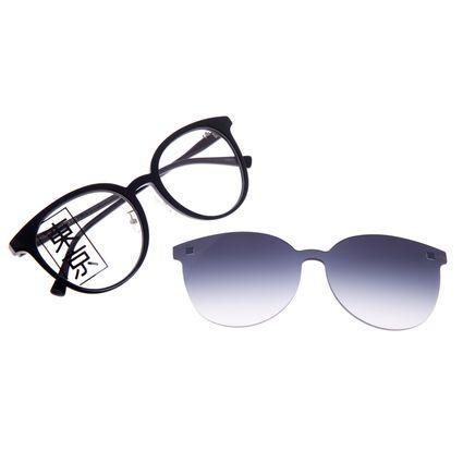 Armação Para Óculos de Grau Feminino Tokyo Sakura Multi Preto LV.MU.0434-2001