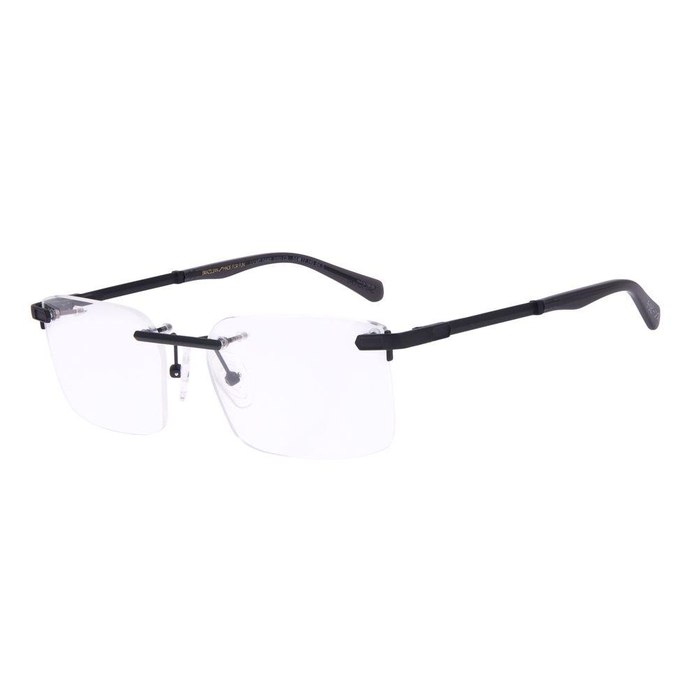 Armação Para Óculos de Grau Masculino Tokyo Samurai Preto LV.MT.0440-0101