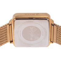 Relógio Digital Feminino Tokyo Touch Led Dourado RE.MT.1075-2121.7