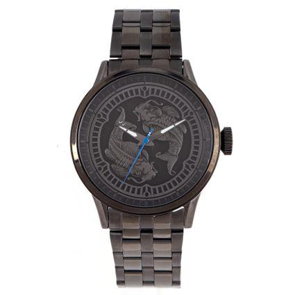 Relógio Analógico Masculino Tokyo Carpas Ônix RE.MT.1079-2222