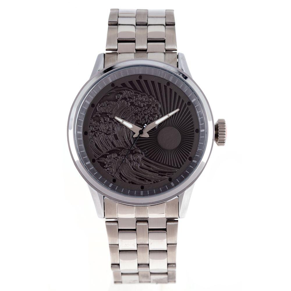 Relógio Analógico Masculino Tokyo Grande Onda Prata RE.MT.1079-2207