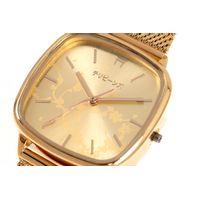 Relógio Analógico Feminino Tokyo Cerejeira Metal Dourado RE.MT.1086-2121.5