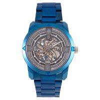 Relógio Automático Masculino A.H Circus Caveira Azul RE.MT.1175-0808