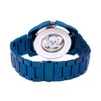 Relógio Automático Masculino A.H Circus Caveira Azul RE.MT.1175-0808.2