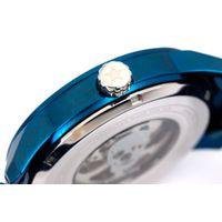 Relógio Automático Masculino A.H Circus Caveira Azul RE.MT.1175-0808.6