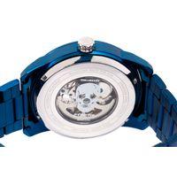 Relógio Automático Masculino A.H Circus Caveira Azul RE.MT.1175-0808.7