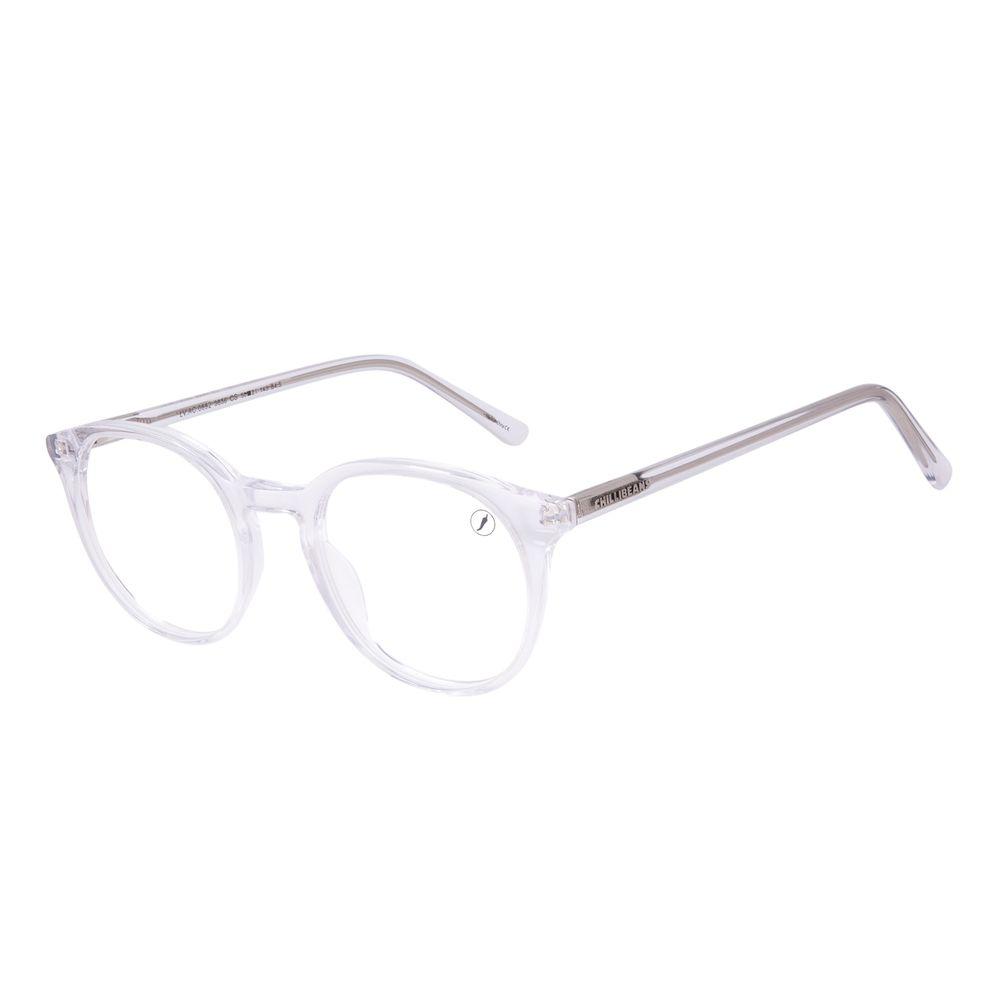 Armação Para Óculos de Grau Unissex Chilli Beans Redondo Transparente LV.AC.0692-3636
