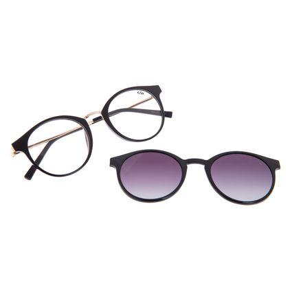 Armação Para Óculos de Grau Feminino Chilli Beans Multi Polarizado Degradê LV.MU.0442-2030