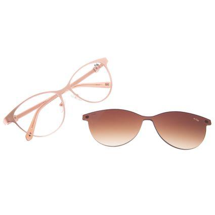 Armação Para Óculos de Grau Feminino Chilli Beans Cat Multi Dourado LV.MU.0496-5721