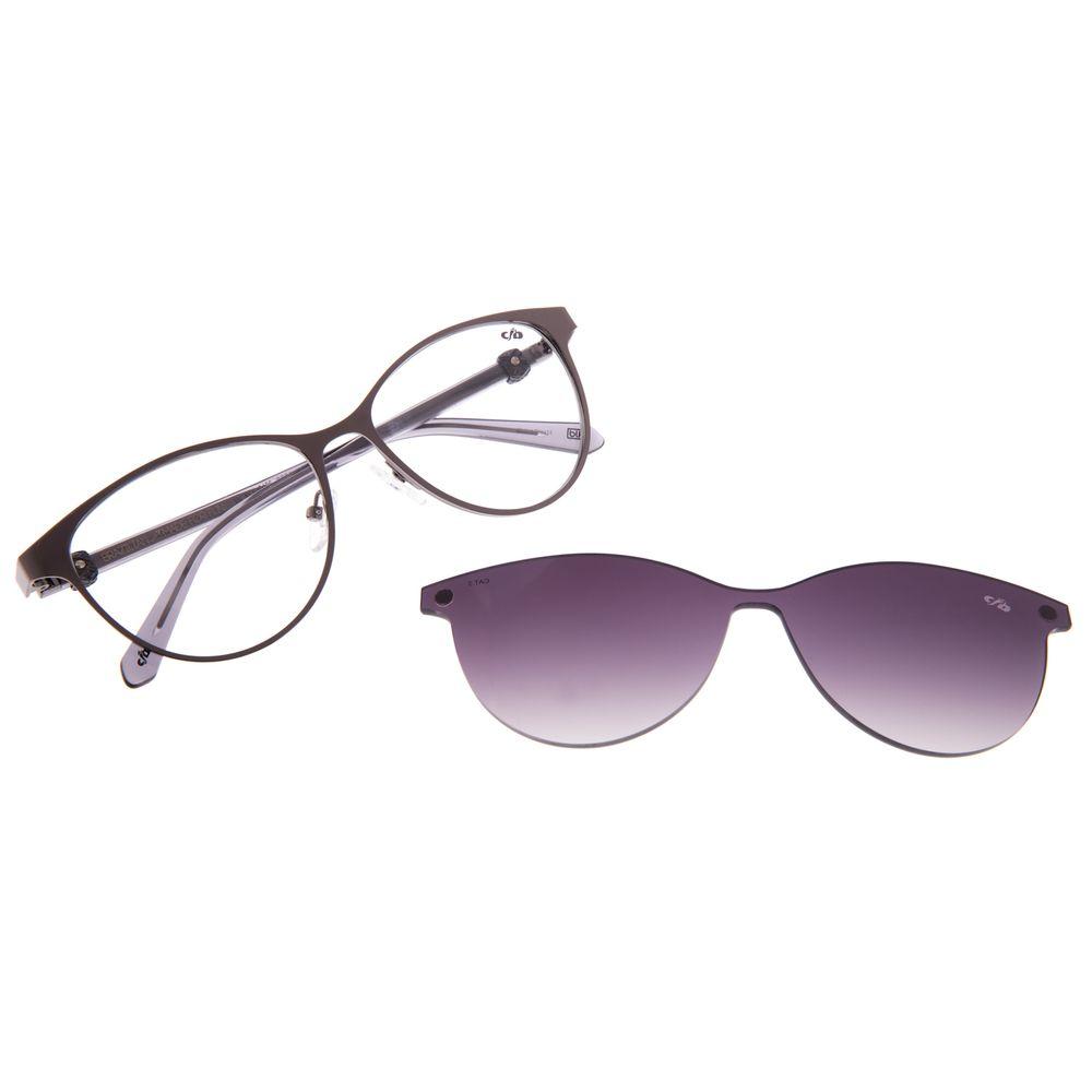 Armação Para Óculos de Grau Feminino Chilli Beans Cat Multi Ônix LV.MU.0496-2022