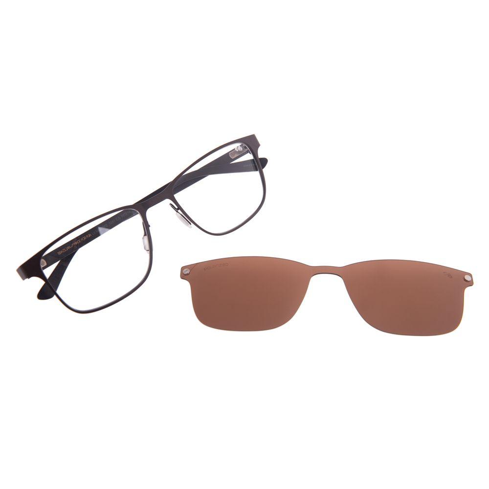 Armação Para Óculos de Grau Masculino Chilli Beans Marrom Multi Polarizado LV.MU.0502-0247