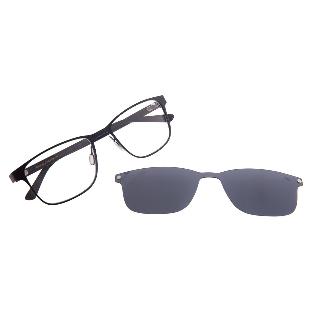 Armação Para Óculos de Grau Masculino Chilli Beans Preto Multi Polarizado LV.MU.0502-0501