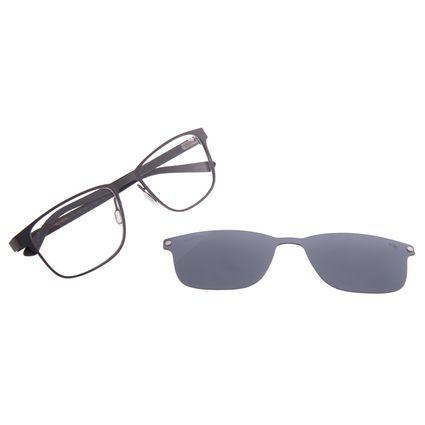 Armação Para Óculos de Grau Masculino Chilli Beans Ônix Multi Polarizado LV.MU.0502-0522