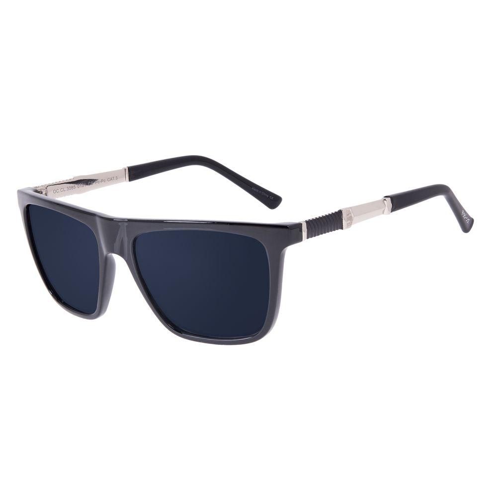 Óculos de Sol Masculino Tokyo Onda Bossa Nova Preto OC.CL.3085-0101