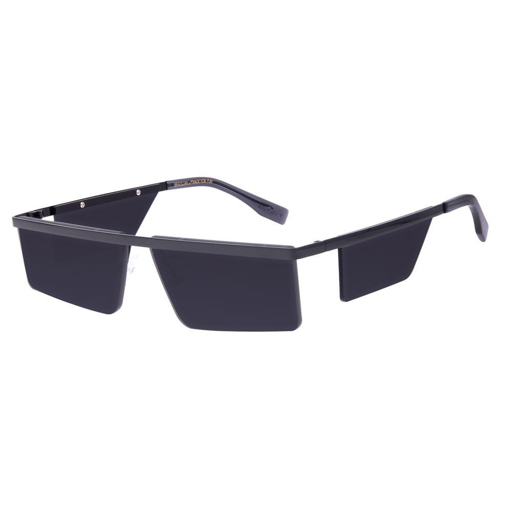 Óculos de Sol Unissex Tokyo Quadrado Flap Preto OC.MT.2903-0101