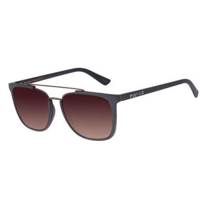 Óculos de Sol Masculino Tokyo Dragão Bossa Nova Marrom OC.CL.3082-5702